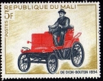 Stamps Africa - Mali -  DE DION - BOUTON 1894