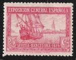 Sellos de Europa - España -  Santa María y vista de Sevilla