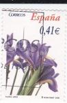 Stamps Spain -  Flora-  Lirio      (k)