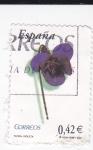 Stamps Spain -  Flora-  Violeta     (k)