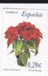 Sellos de Europa - España -  Flora-  Flor de Pascua      (k)