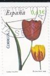 Sellos de Europa - España -  Flora-  Tulipan    (k)