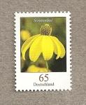 Stamps Germany -  Flor parasol