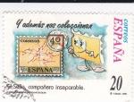 Sellos de Europa - España -  El Sello compañero inseparable-Y ADEMÁS NOS COLECCIONAN    (k)