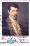 Sellos de Europa - España -  autorretrato Antonio Mª Esquivel       (k)