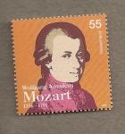Sellos de Europa - Alemania -  250 Aniv. nacimiento Mozart
