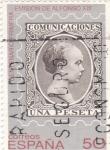 Stamps Spain -  Centenario primera emisión Alfonso XIII       (k)