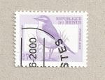 Stamps Benin -  Oenanthe oenanthe
