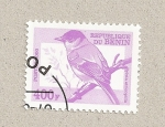 Stamps Benin -  Ave Sylvia atricopilla