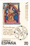 Stamps Spain -  VIII Centenario de las Cortes de León        (k)