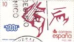 Sellos de Europa - España -  13 Oct. Centenario del Descubrimiento de América-     (k)