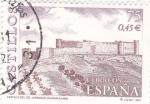 Stamps Spain -  Castillo del Cid, Jadraque (Guadalajara)    (k)