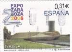 Stamps Spain -  EXPO-ZARAGOZA 2008        (k)
