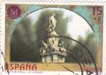 Stamps Spain -  Fuente de Apolo     (k)