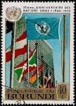 Stamps Africa - Burundi -  XXV Aniversario de las Naciones Unidas