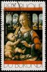 Stamps Africa - Burundi -  Pinturas