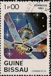 Stamps Africa - Guinea Bissau -  Cosmonautica