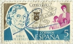 Stamps Spain -  CENTENARIO DE LA SALLE EN ESPAÑA