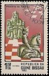 Stamps Africa - Guinea Bissau -  Historia delAjedrez