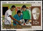 Stamps Africa - Burundi -  Año Internacional de la Educacion