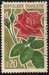 Sellos de Europa - Francia -  Flores