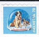 Sellos de Europa - Suiza -  Bola de Nieve Navideña
