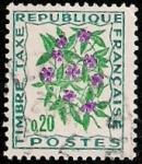 Stamps France -  Flores