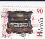 Stamps Switzerland -  Aparato musical
