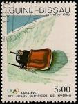 Stamps Africa - Guinea Bissau -  Olimpiadas Sarajevo 1984