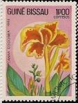 Sellos de Africa - Guinea Bissau -  Flores