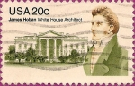 Stamps : America : United_States :  James Hoban - Arquitecto de la Casa Blanca.