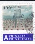Stamps Switzerland -  silla -