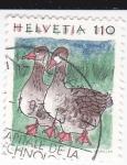 Stamps Switzerland -  patos