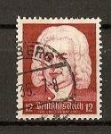 Stamps Germany -  250 Aniversario del nacimiento de Bach.