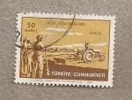 Stamps Turkey -  Labores del campo