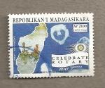 Sellos del Mundo : Africa : Madagascar : 100 Aniv. Rotarios