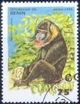 Stamps : Africa : Benin :  Mandrillus sphink