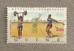 Stamps Africa - Guinea Bissau -  Atletas Olimpiadas Munich