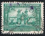 Sellos de America - Ecuador -  CENTENARIO 1844-1944 FEDERICO GONZALEZ SUAREZ