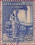 Stamps : America : Venezuela :  Dr. Cristobal Mendoza.