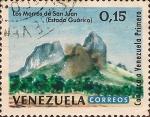 Stamps : America : Venezuela :  Conozca a Venezuela Primero. Los Morros de San Juan, Guárico.