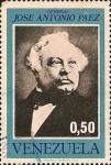 Stamps : America : Venezuela :  Centenario de la muerte de José Antonio Páez.