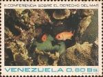 Sellos del Mundo : America : Venezuela : III Conferencia Sobre el Derecho del Mar. Arrecifes de Coral.