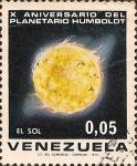 Sellos del Mundo : America : Venezuela : X Aniversario del Planetario Humboldt. El Sol.