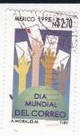 Stamps Mexico -  Día Mundial del Correo