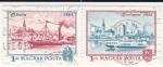 Stamps Hungary -  Buda 1872 -   Budapest 1972