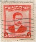 Sellos del Mundo : Asia : Filipinas : Marcelo H. del Pilar