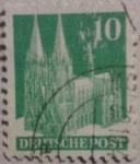 Stamps Germany -  sello deutsche post