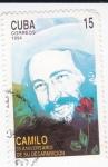 Stamps Cuba -  CAMILO 35 aniversariode su Desaparición
