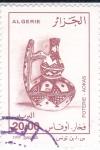 Sellos de Africa - Argelia -  Cerámica Tradicional